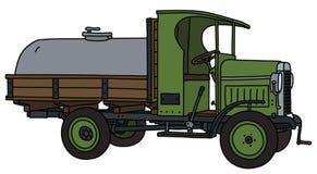 Tappningbehållarelastbilen royaltyfri illustrationer