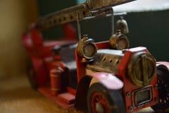Tappningbil med stegen Arkivfoton