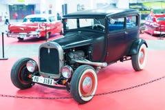 Tappningbil på carshow Fotografering för Bildbyråer