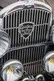 Tappningbilar och motorcyklar Royaltyfria Foton