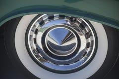 Tappningbilgummihjul Fotografering för Bildbyråer