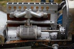 Tappningbilmotor Fotografering för Bildbyråer