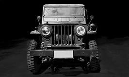 TappningbilWillys jeep royaltyfri bild