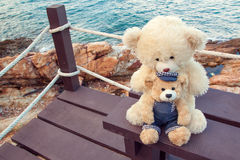 Tappningbjörnleksaker, ungeleksaker Arkivfoton