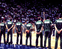 TappningBoston Celtics Arkivfoto