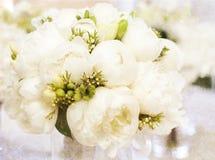 Tappningbröllopbukett Arkivfoton