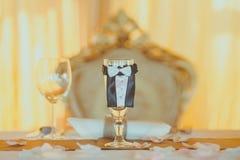 Tappningbröllopgarnering Royaltyfria Foton