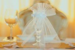 Tappningbröllopgarnering Royaltyfri Bild