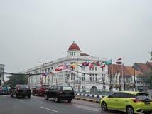 Tappningbyggnad i Kota Tua Royaltyfri Fotografi