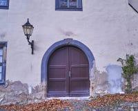 Tappningdörr i Altenburg, Tyskland Royaltyfria Foton