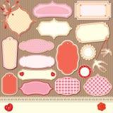 Tappningdesignbeståndsdelar Royaltyfri Bild