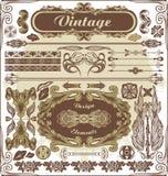 Tappningdesignbeståndsdelar Royaltyfria Bilder