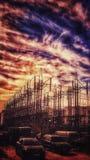 Tappningelektricitet royaltyfria foton