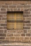 Tappningfönster och skyddsgaller Royaltyfri Bild