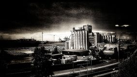Tappningfabrik royaltyfri bild