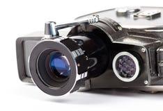 Tappningfilmkamera på vit Royaltyfri Bild