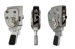 Tappningfilmkamera på vit Royaltyfri Fotografi