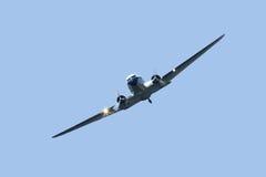 Tappningflygplan Fotografering för Bildbyråer