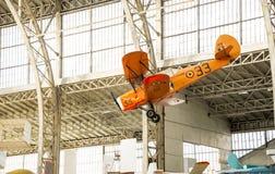 Tappningflygplan Royaltyfri Foto