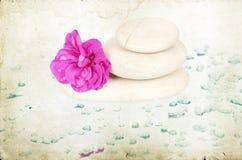 Tappningfoto av brunnsortstenar Royaltyfri Foto