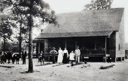 Tappningfoto av familjen Arkivfoton