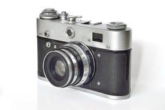 Tappningfotokamera på en vit bakgrund Royaltyfri Foto