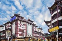 Tappninggata och olje- marknad i Shanghai royaltyfri bild