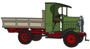 Tappninggräsplanlastbilen vektor illustrationer