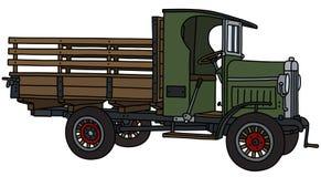 Tappninggräsplanlastbilen royaltyfri illustrationer