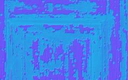 TappningGrungebakgrund med turkos och purpurfärgad skalande målarfärg arkivfoton