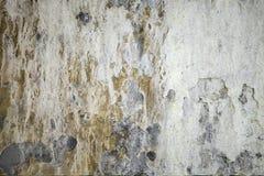 Tappninggrungetextur av väggen, blöder av målarfärg arkivbilder