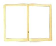 Tappninghumorboken inramar bakgrundsmallen royaltyfri fotografi