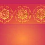 Tappninginbjudankort på röd bakgrund för grunge royaltyfri illustrationer
