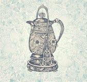 Tappningkaffekruka Royaltyfri Fotografi