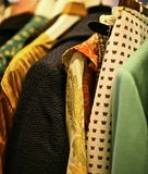 Tappningkläder royaltyfri foto