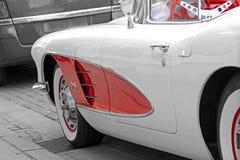 Tappningklassiker Chevrolet Corvette Fotografering för Bildbyråer