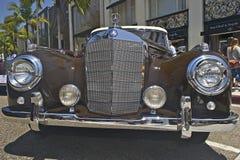 Tappningklassikerbilar Arkivfoto