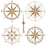 Tappningkompasssymboler vektor illustrationer