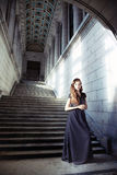 Tappningkvinna Royaltyfri Fotografi
