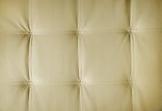 Sepia föreställer av äkta läderupholstery Royaltyfri Fotografi