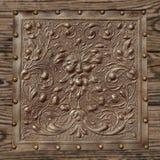 Tappninglädertextur Royaltyfri Bild