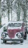 Tappninglastlastbil fotografering för bildbyråer