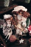 Tappningleksaker för jul Royaltyfria Foton