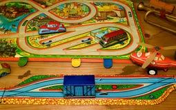 Tappningleksaker Toys för pojkar retro toys Royaltyfri Bild
