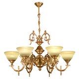 Tappningljuskrona som isoleras på vit Royaltyfri Bild