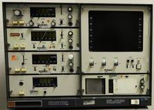 Tappningläkarundersökningen instrumenterar panelen Arkivfoto