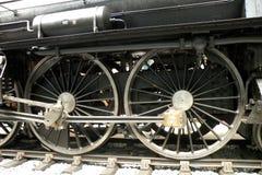 Tappninglokomotiv i det tekniska museet i Prague 3 Arkivfoton