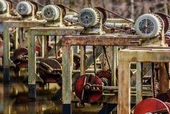 Tappningmaskinutrustning Royaltyfria Foton