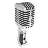 Tappningmikrofon Arkivbild