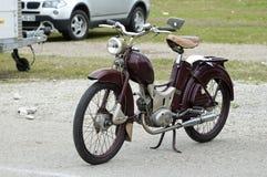 Tappningmotorbike Fotografering för Bildbyråer